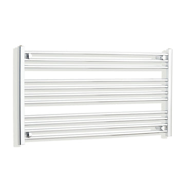 1000mm Wide 600mm High Flat Chrome Heated Towel Rail Radiator HTR,Towel Rail Only