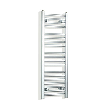 350mm Wide 1000mm High Flat Chrome Heated Towel Rail Radiator,Towel Rail Only