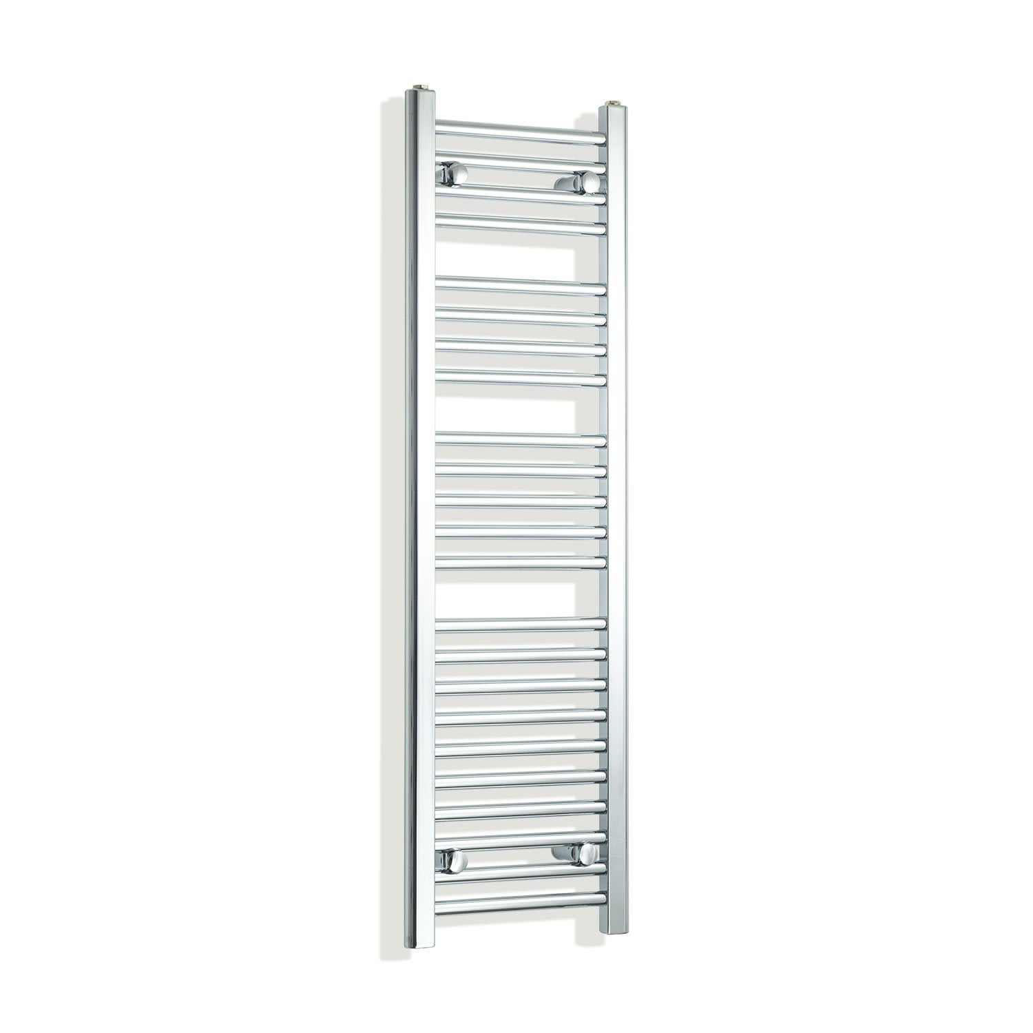 300mm Wide 1200mm High Flat Chrome Heated Towel Rail Radiator,Towel Rail Only