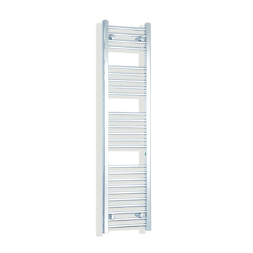 350mm Wide 1400mm High Flat Chrome Heated Towel Rail Radiator,Towel Rail Only