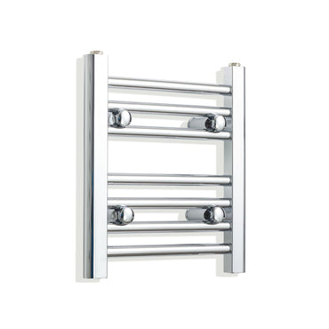 350mm Wide 400mm High Flat Chrome Heated Towel Rail Radiator,Towel Rail Only