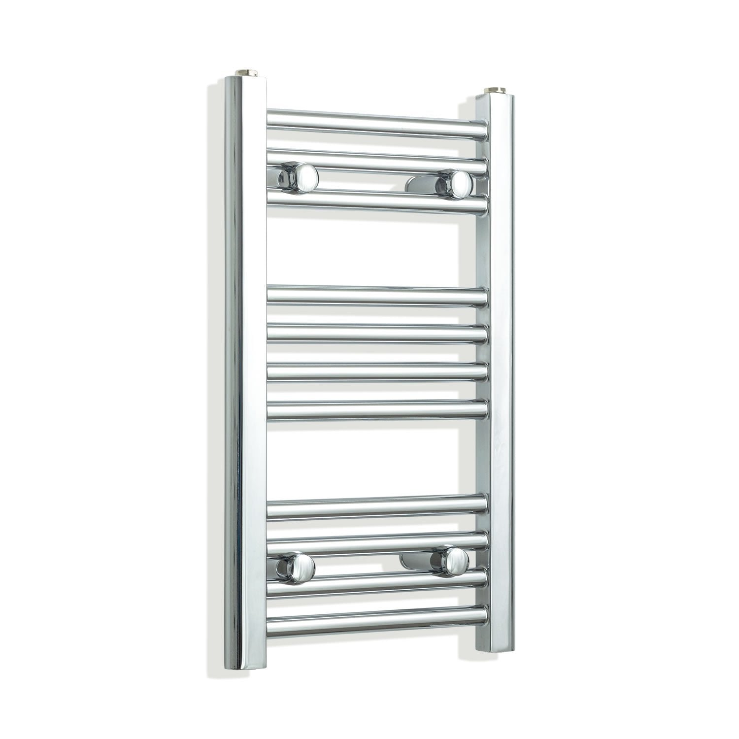 300mm Wide 600mm High Flat Chrome Heated Towel Rail Radiator,Towel Rail Only