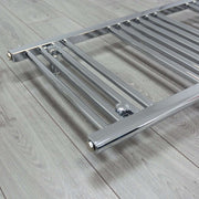 500mm Wide 1211mm High 25mm Straight Chrome Heated Towel Rail Radiator HTR