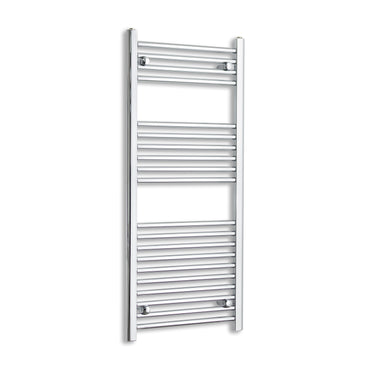 600mm Wide 1200mm High Straight Chrome Heated Towel Rail Radiator Gas or Electric,Towel Rail Only