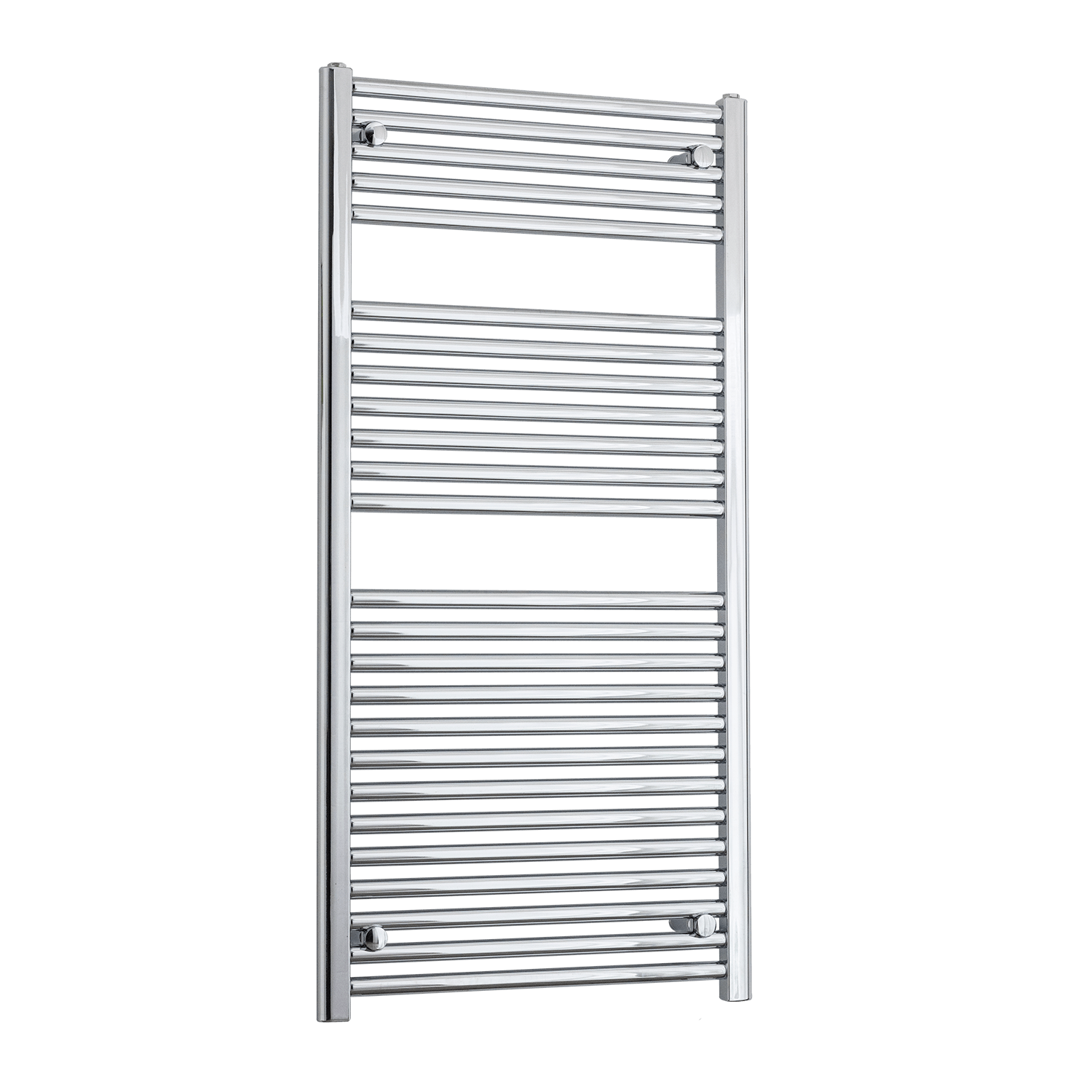 500mm Wide 1211mm High 25mm Straight Chrome Heated Towel Rail Radiator HTR,Towel Rail Only
