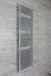 500mm Wide 1744mm High 25mm Tubes Straight Chrome Heated Towel Rail Radiator HTR,Towel Rail Only