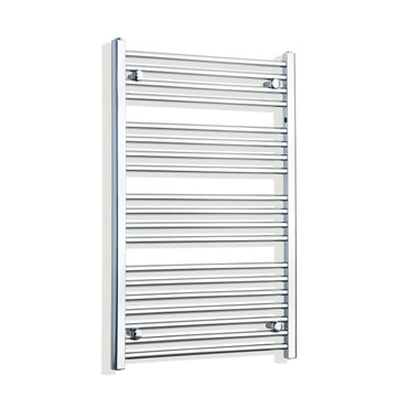 650mm Wide 1000mm High Flat Chrome Heated Towel Rail Radiator HTR,Towel Rail Only