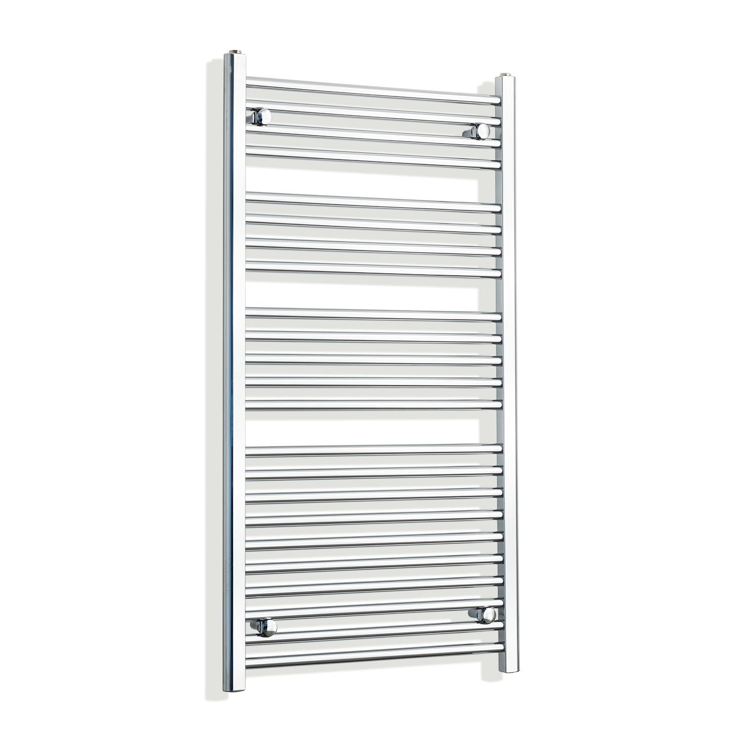 700mm Wide 1200mm High Curved Chrome Heated Towel Rail Radiator HTR,Towel Rail Only