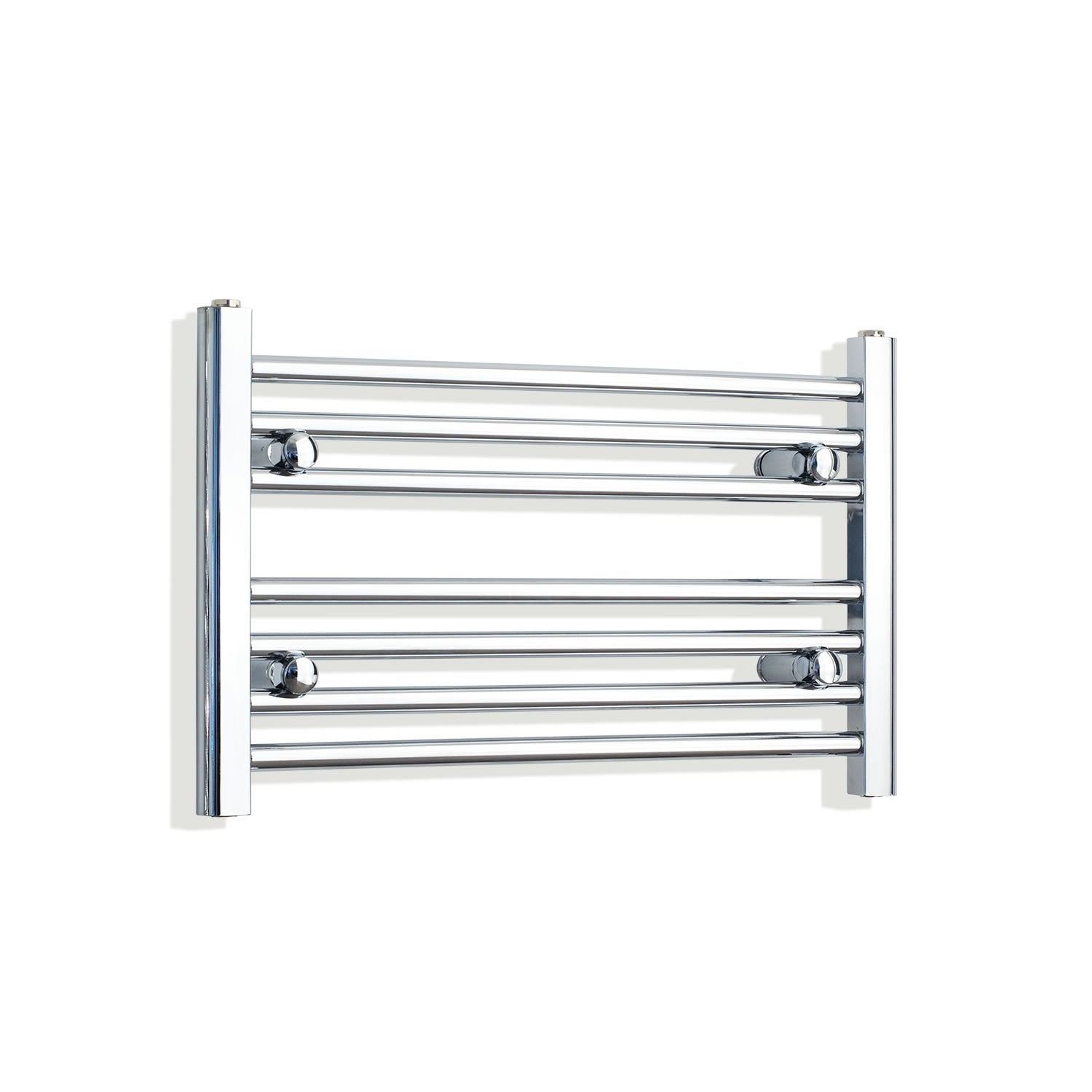 650mm Wide 400mm High Flat Chrome Heated Towel Rail Radiator HTR,Towel Rail Only