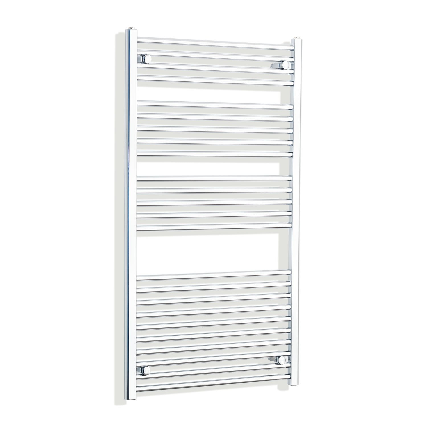 700mm Wide 1300mm High Curved Chrome Heated Towel Rail Radiator HTR,Towel Rail Only