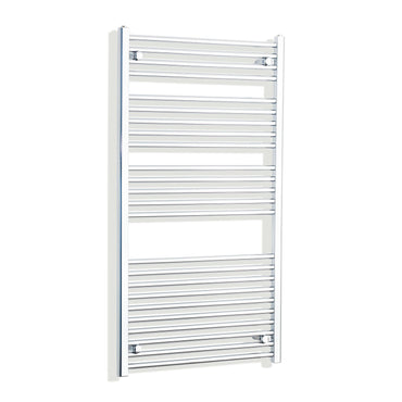 750mm Wide 1300mm High Curved Chrome Heated Towel Rail Radiator HTR,Towel Rail Only