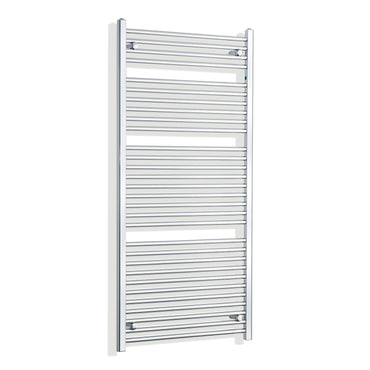 750mm Wide 1500mm High Curved Chrome Heated Towel Rail Radiator HTR,Towel Rail Only