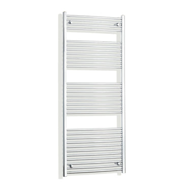 700mm Wide 1700mm High Curved Chrome Heated Towel Rail Radiator HTR,With Straight Valve