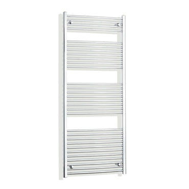 700mm Wide 1700mm High Flat Chrome Heated Towel Rail Radiator HTR,Towel Rail Only
