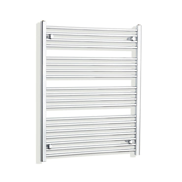750mm Wide 1000mm High Curved Chrome Heated Towel Rail Radiator HTR,Towel Rail Only
