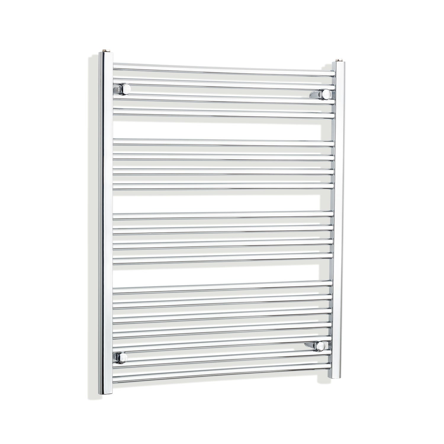 750mm Wide 1000mm High Flat Chrome Heated Towel Rail Radiator HTR,Towel Rail Only