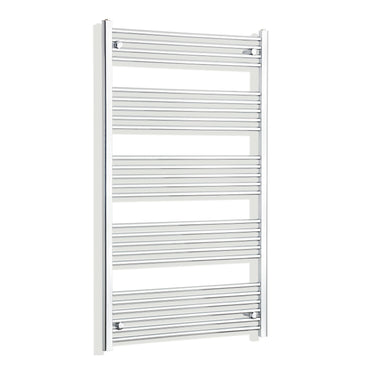 900mm Wide 1400mm High Flat Chrome Heated Towel Rail Radiator HTR,Towel Rail Only