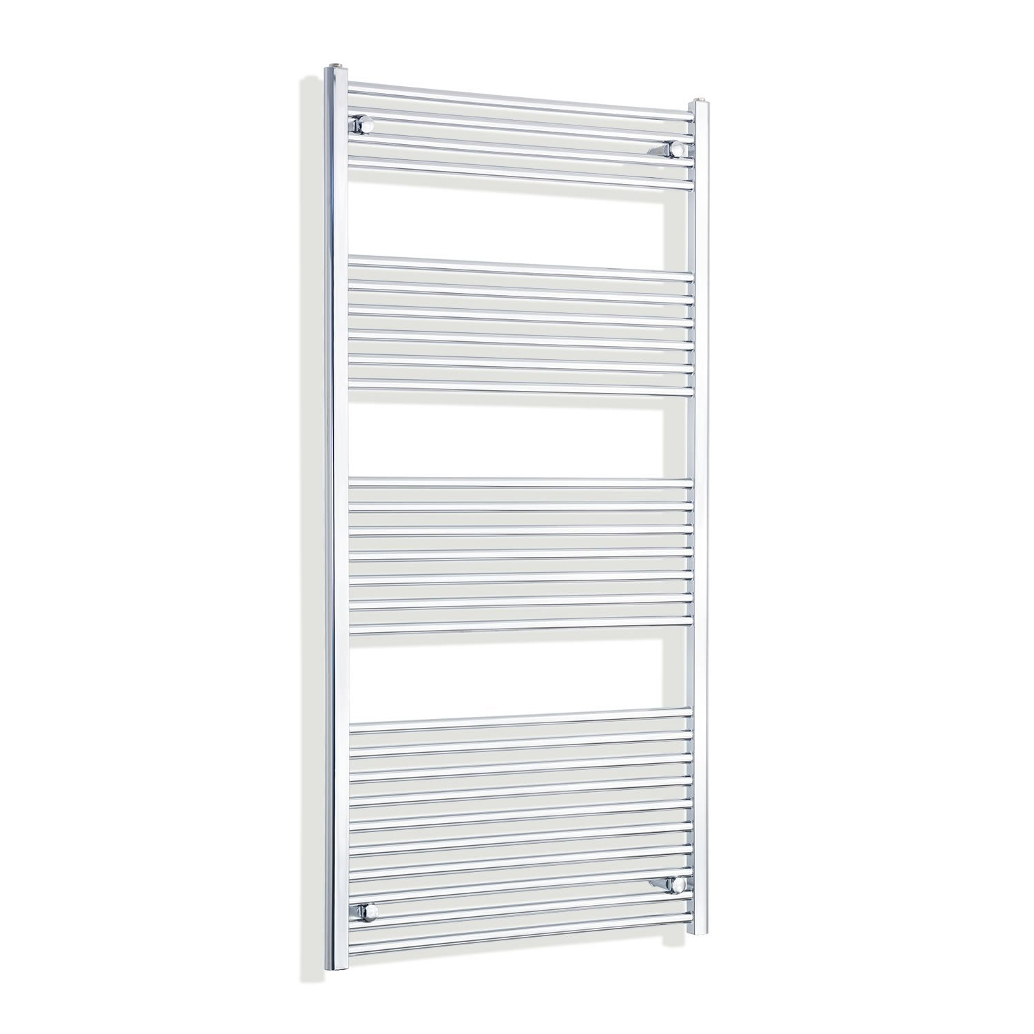 750mm Wide 1600mm High Flat Chrome Heated Towel Rail Radiator HTR,Towel Rail Only