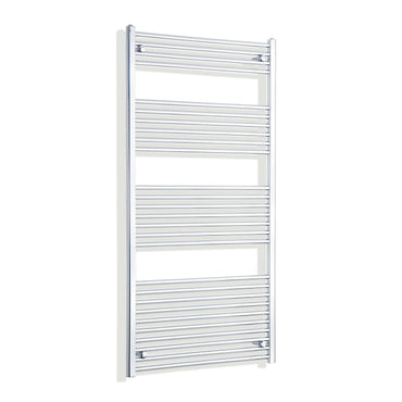 800mm Wide 1600mm High Flat Chrome Heated Towel Rail Radiator HTR,Towel Rail Only