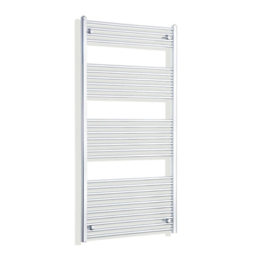 850mm Wide 1600mm High Flat Chrome Heated Towel Rail Radiator HTR,Towel Rail Only