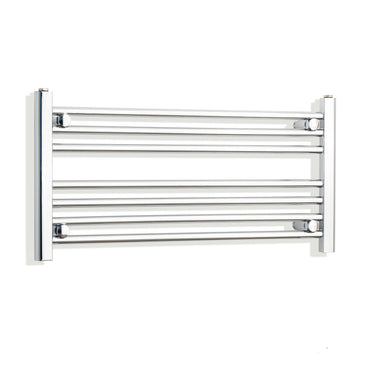 800mm Wide 400mm High Flat Chrome Heated Towel Rail Radiator HTR,Towel Rail Only