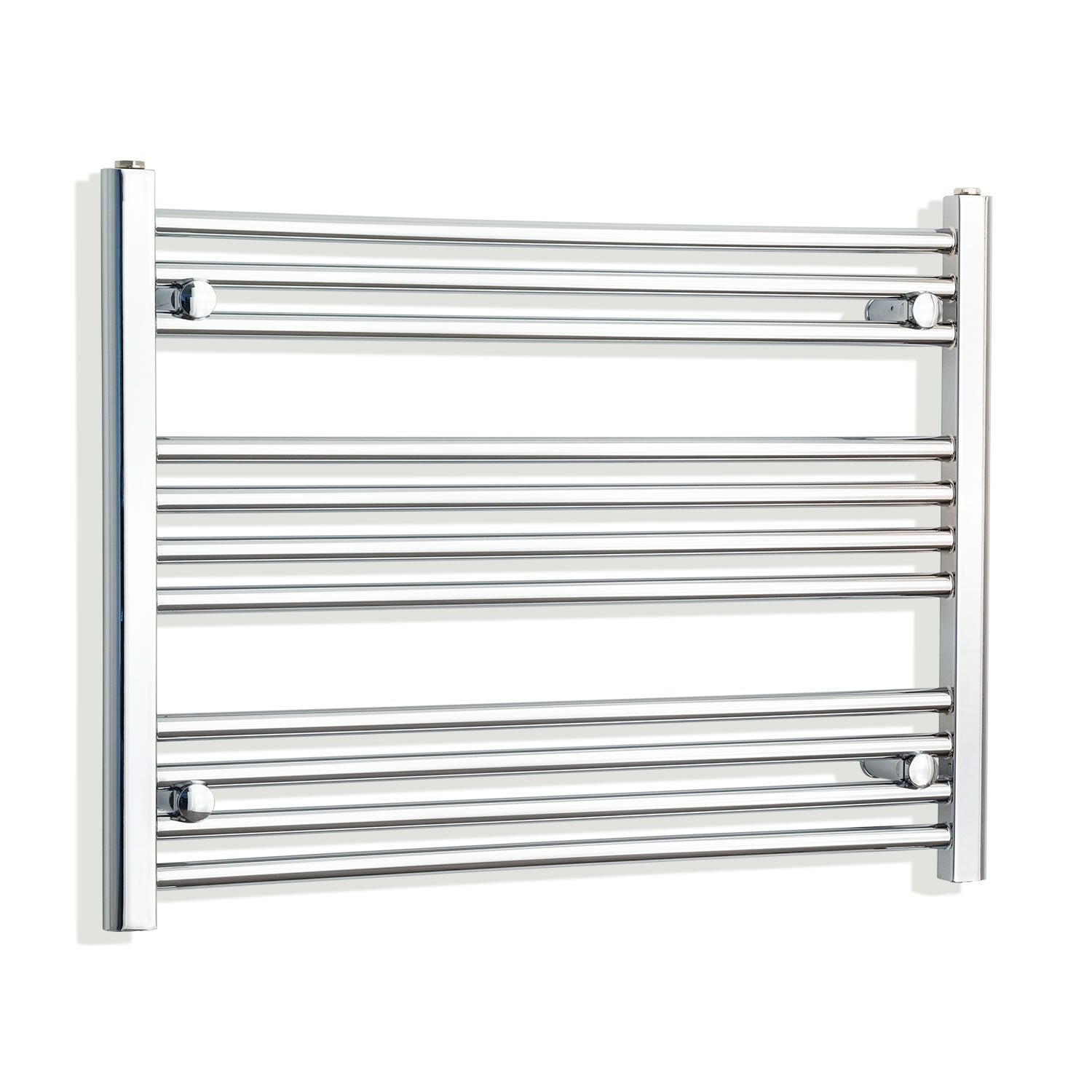 950mm Wide 600mm High Flat Chrome Heated Towel Rail Radiator HTR,Towel Rail Only