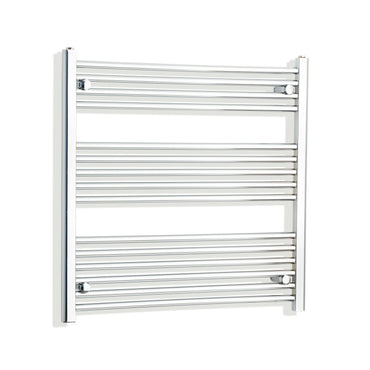 750mm Wide 800mm High Curved Chrome Heated Towel Rail Radiator HTR,Towel Rail Only
