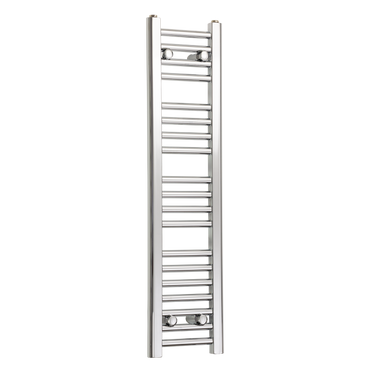 250mm Wide 1000mm High Flat Chrome Heated Towel Rail Radiator,Towel Rail Only