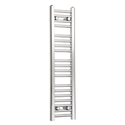 200mm Wide 1000mm High Flat Chrome Heated Towel Rail Radiator,Towel Rail Only