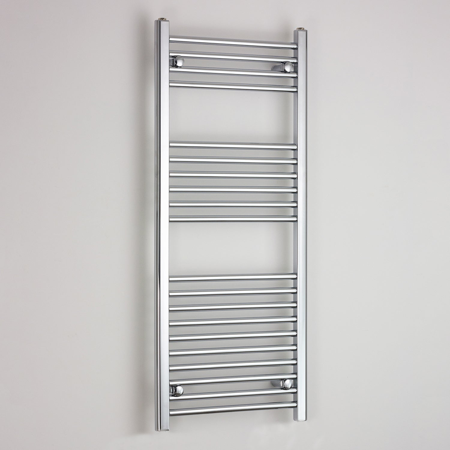 400mm Wide 1200mm High Flat Chrome Heated Towel Rail Radiator HTR,Towel Rail Only
