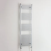 400mm Wide 1600mm High Straight Chrome Heated Towel Rail Radiator HTR,With Straight Valve