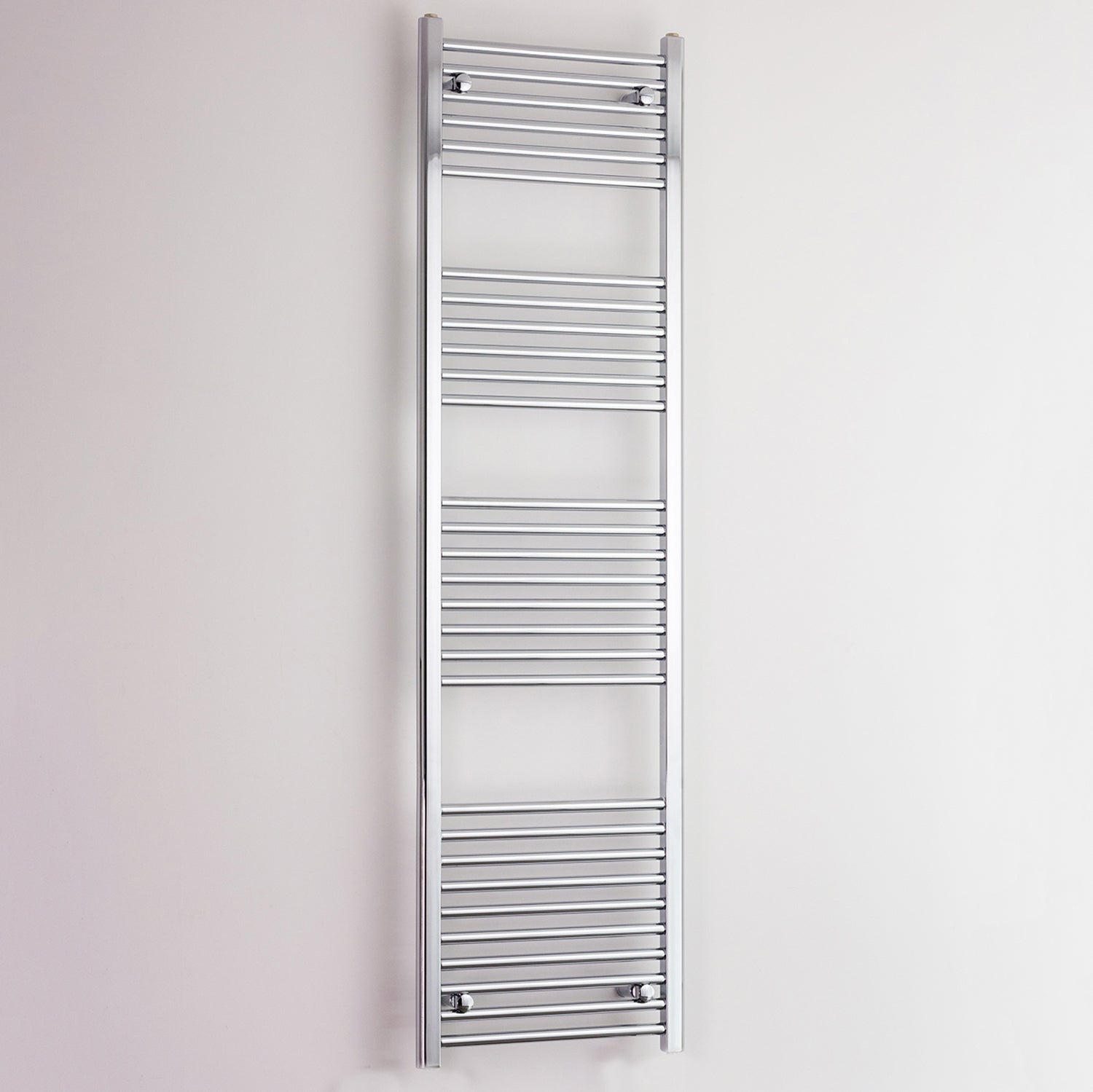 600mm Wide 1800mm High Flat Chrome Heated Towel Rail Radiator HTR,Towel Rail Only