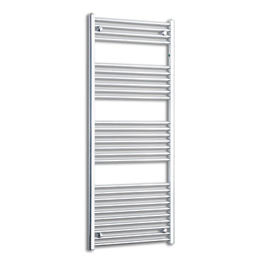 650mm Wide 1600mm High Flat Chrome Heated Towel Rail Radiator HTR,Towel Rail Only
