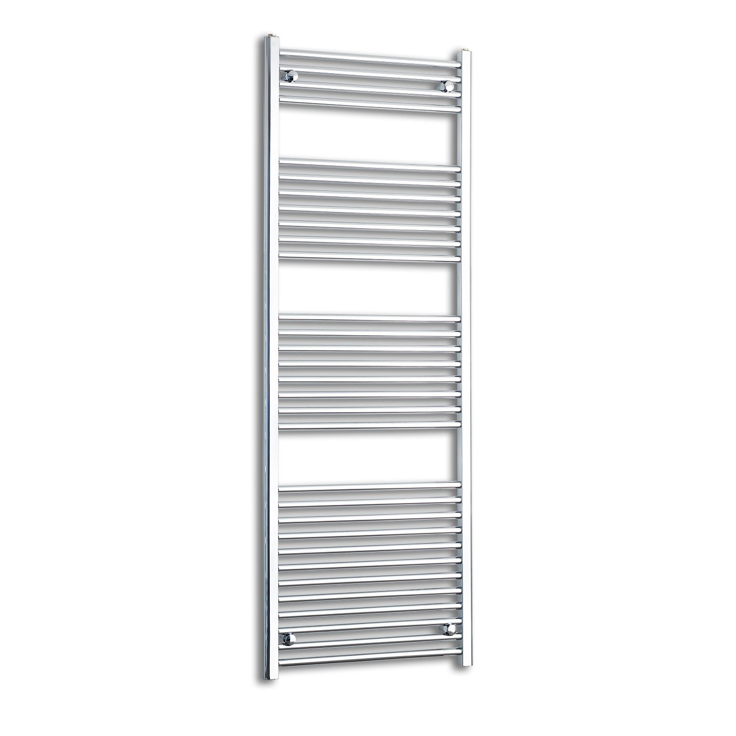 650mm Wide 1800mm High Flat Chrome Heated Towel Rail Radiator HTR,Towel Rail Only