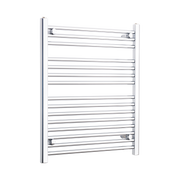 650mm Wide 800mm High Flat Chrome Heated Towel Rail Radiator HTR,Towel Rail Only