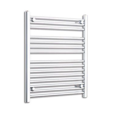 700mm Wide 800mm High Flat Chrome Heated Towel Rail Radiator HTR,Towel Rail Only