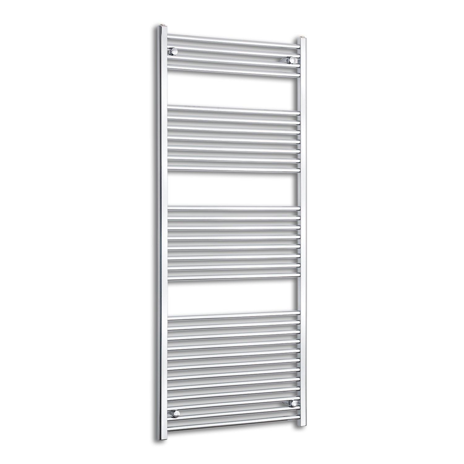 800mm Wide 1800mm High Flat Chrome Heated Towel Rail Radiator HTR,Towel Rail Only