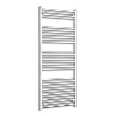 750mm Wide 1800mm High Curved Chrome Heated Towel Rail Radiator HTR,Towel Rail Only