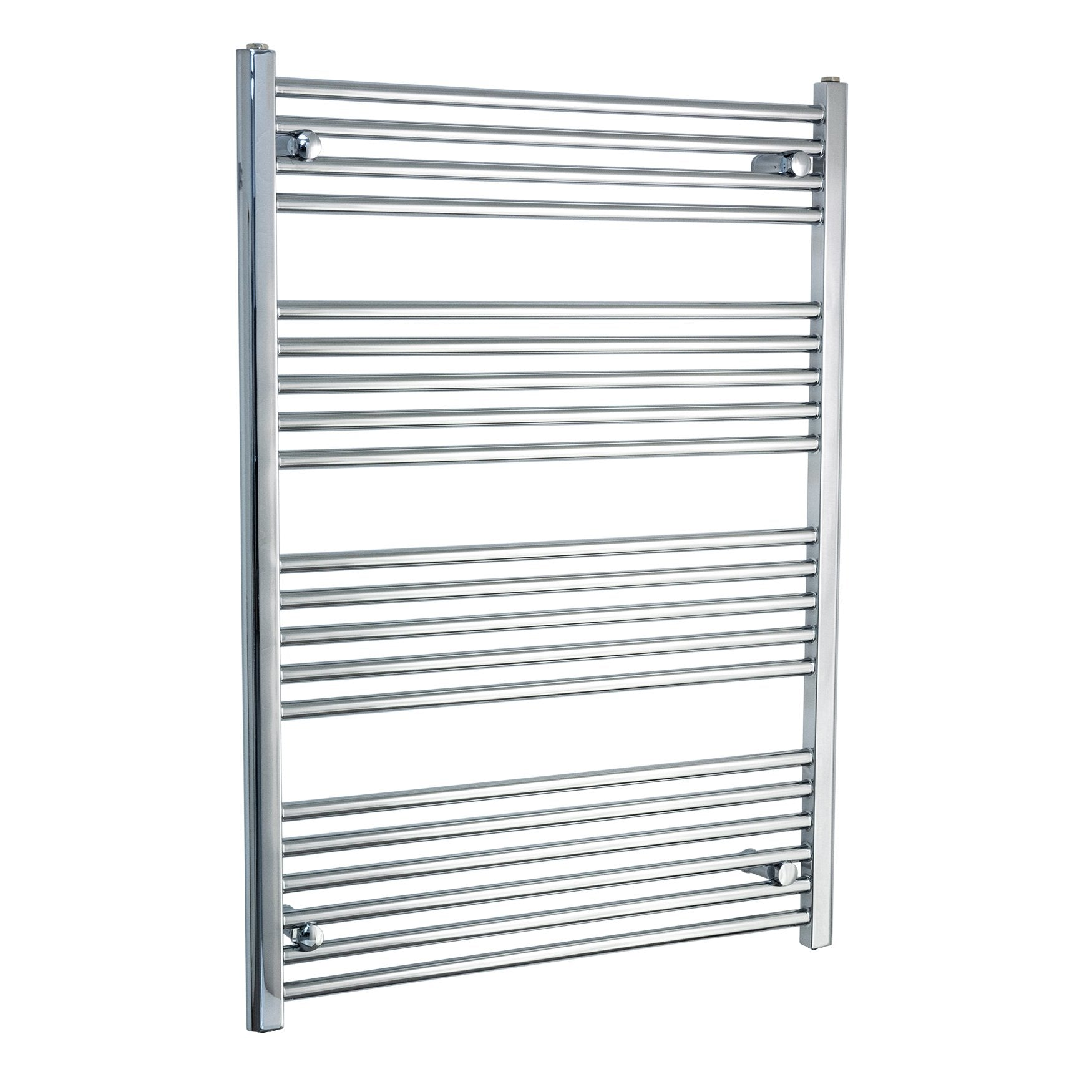 750mm Wide 1100mm High Flat Chrome Heated Towel Rail Radiator HTR,Towel Rail Only