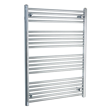 800mm Wide 1100mm High Flat Chrome Heated Towel Rail Radiator HTR,Towel Rail Only