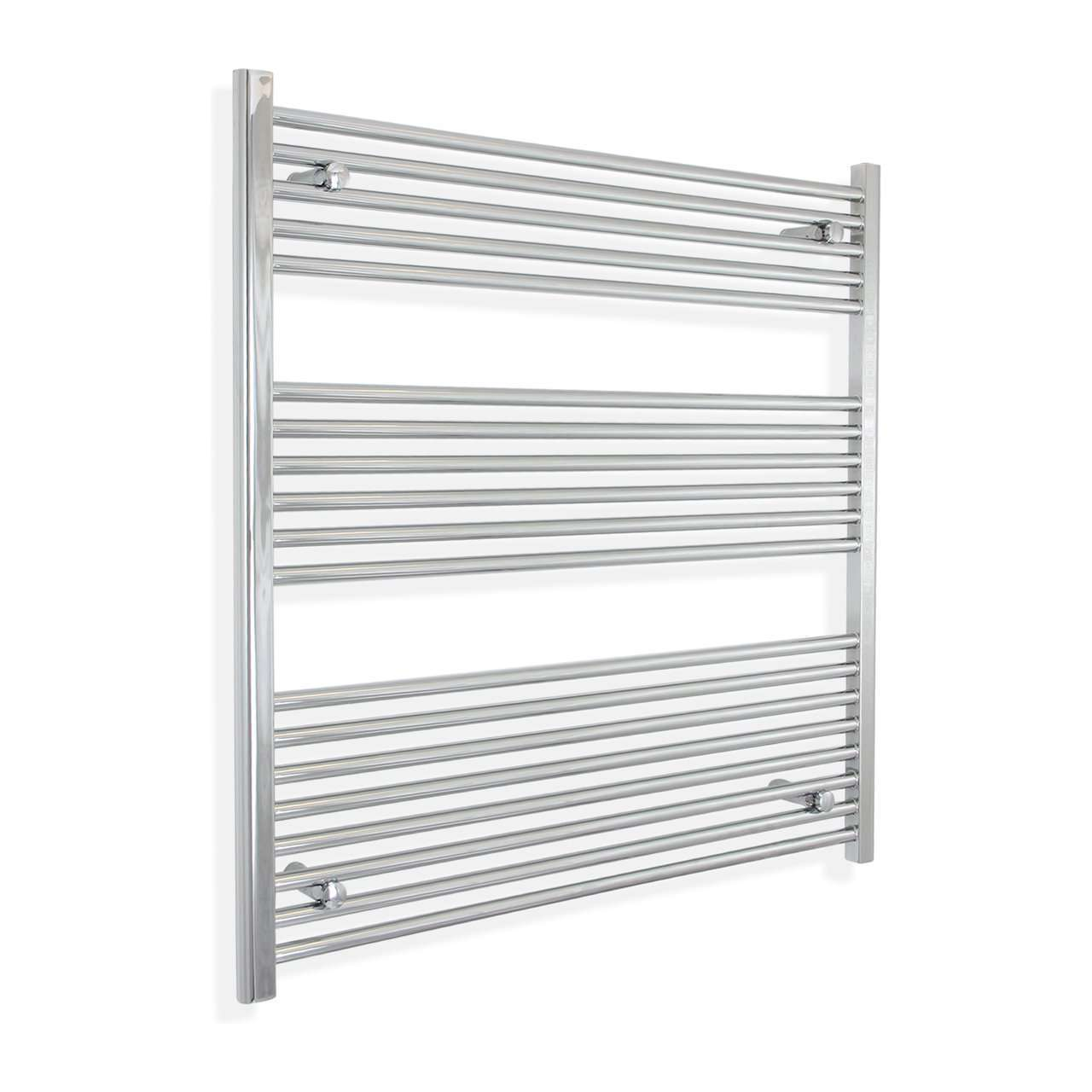 1200mm Wide 900mm High Flat Chrome Heated Towel Rail Radiator HTR,Towel Rail Only