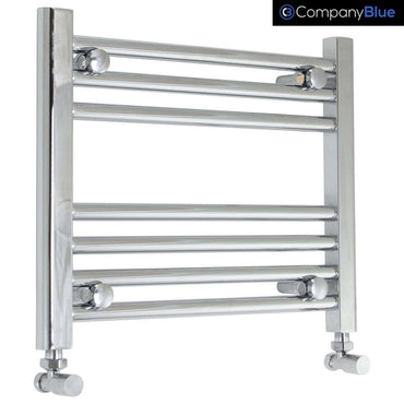 450mm Wide 400mm High Curved Chrome Heated Towel Rail Radiator HTR,Towel Rail Only