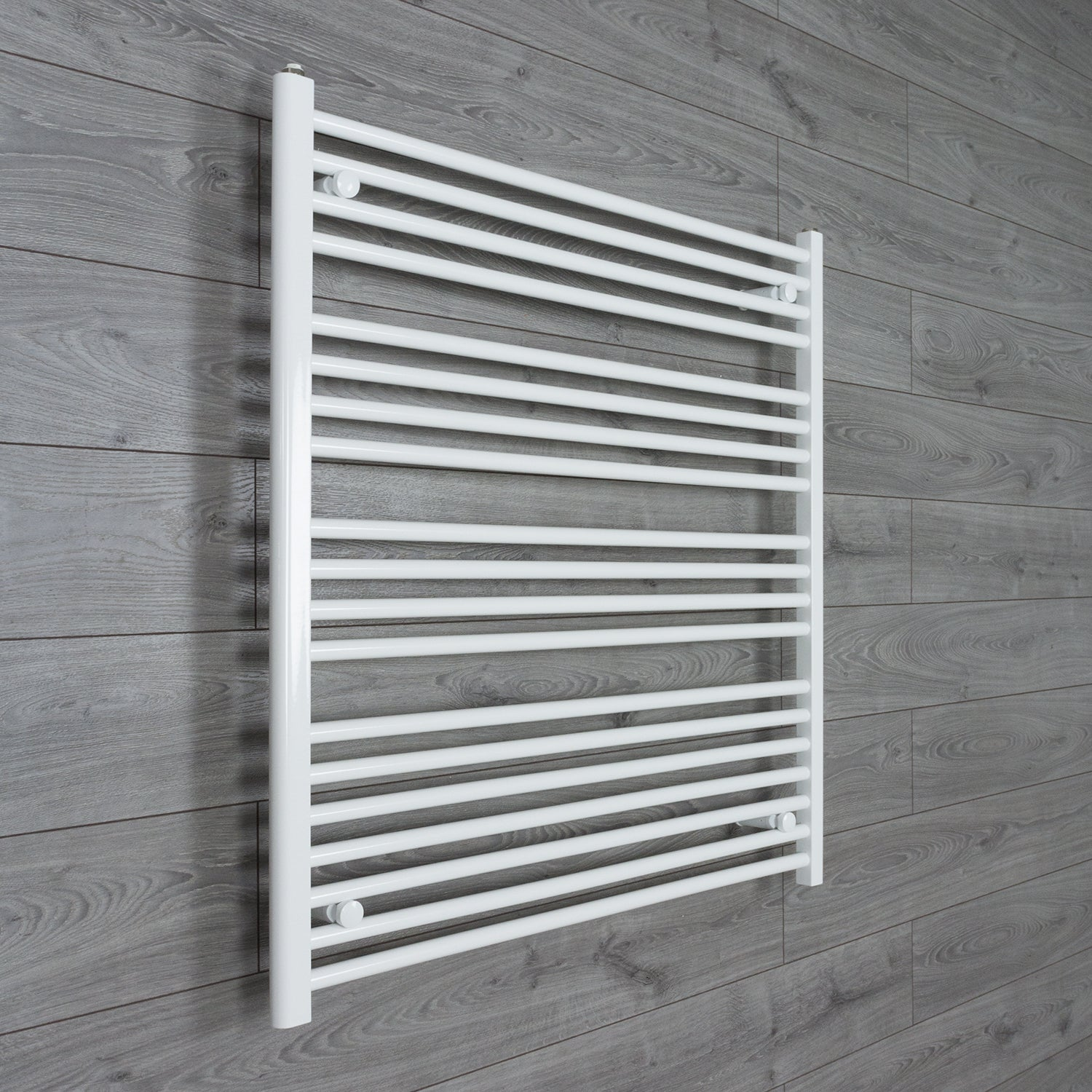 1200mm Wide 1000mm High Flat White Heated Towel Rail Radiator HTR,Towel Rail Only