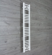 200mm Wide 1200mm High Flat White Heated Towel Rail Radiator HTR,Towel Rail Only