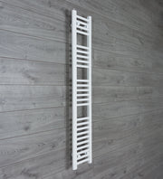 200mm Wide 1400mm High Flat White Heated Towel Rail Radiator HTR,Towel Rail Only