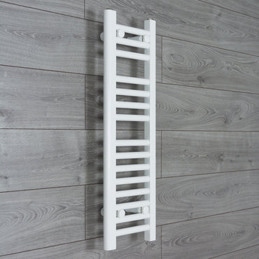200mm Wide 800mm High Flat White Heated Towel Rail Radiator HTR,Towel Rail Only