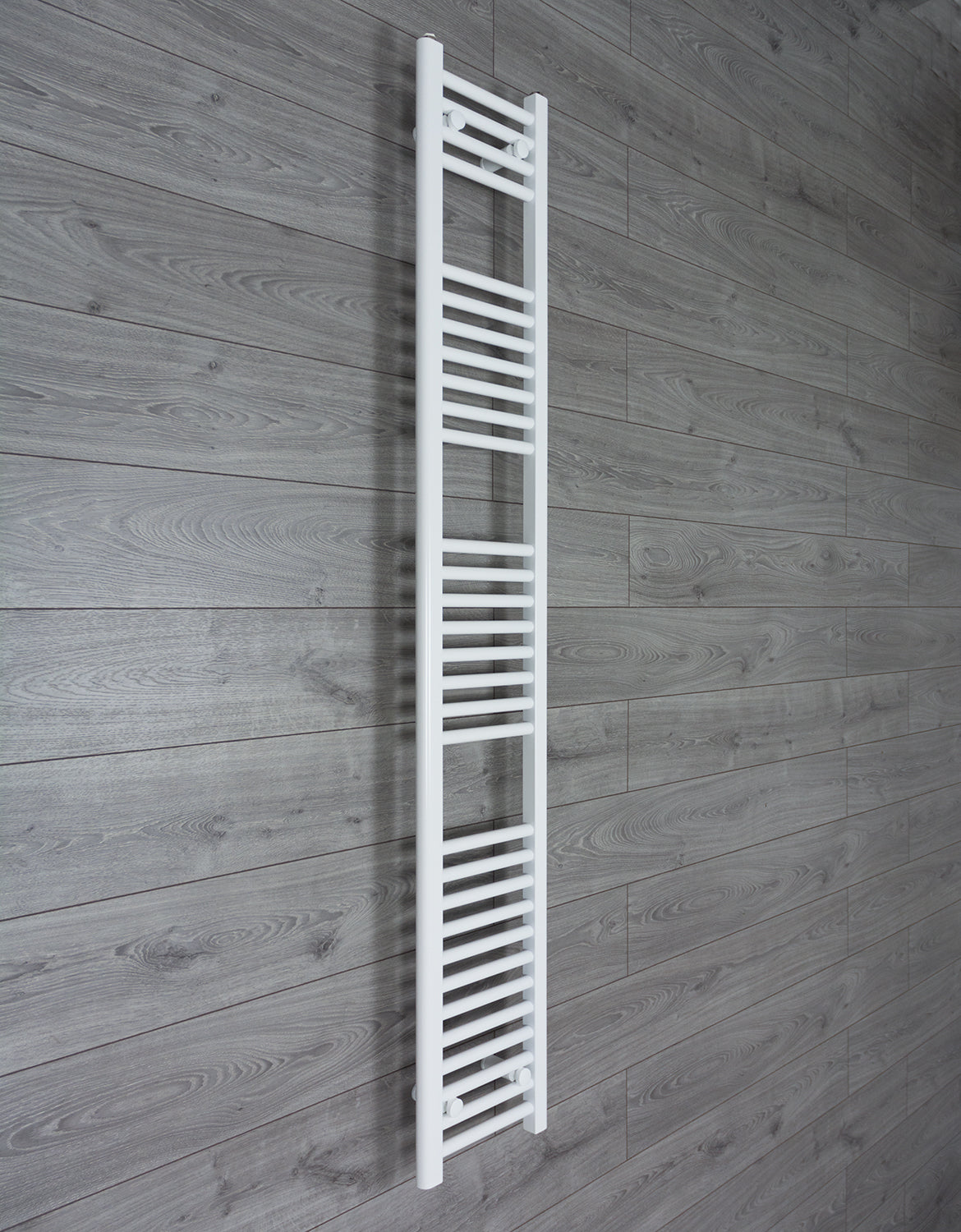 300mm Wide 1800mm High Flat White Heated Towel Rail Radiator HTR,Towel Rail Only
