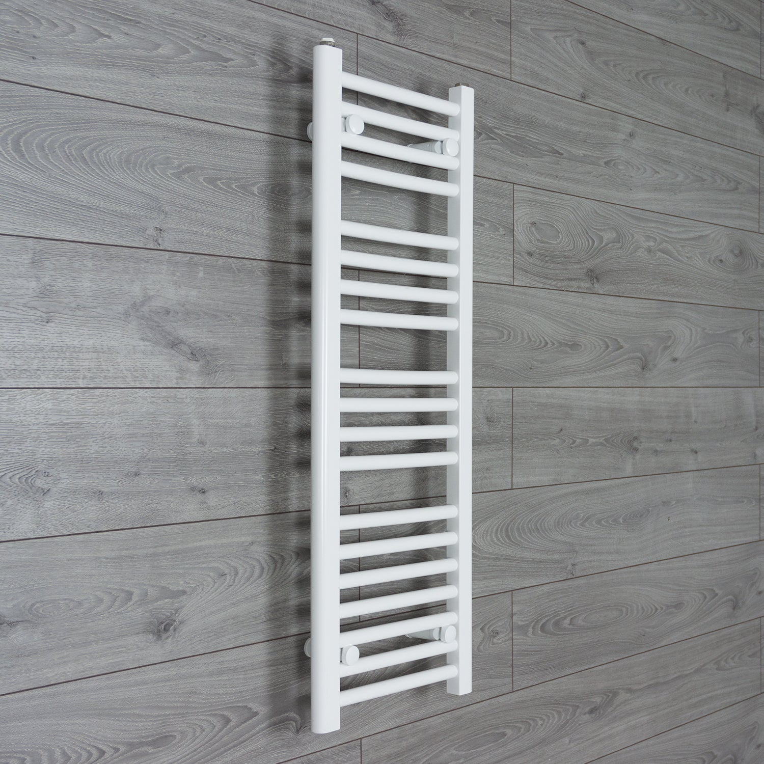 350mm Wide 1000mm High Flat White Heated Towel Rail Radiator HTR,Towel Rail Only