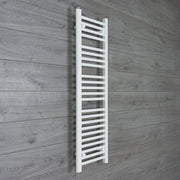 300mm Wide 1200mm High Flat White Heated Towel Rail Radiator HTR,Towel Rail Only