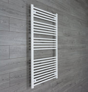 750mm Wide 1300mm High Flat White Heated Towel Rail Radiator HTR,Towel Rail Only